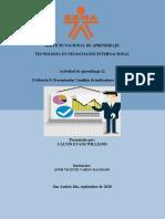 AA12 EV5 Presentación Análisis de indicadores de la DFI