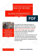 SISTEMA DE RECIBO Y ALMACENAMIENTO