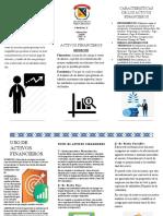 FOLLETO PARCIAL ACTIVOS FINANCIEROS