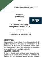 L3 Controle de Gestion Support cours 2020