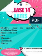 CLASE 14 ARTES