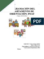 Programación Orientación Educativa