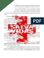 DETALHAMENTO DO CURSO DE CAPACITAÇÃO