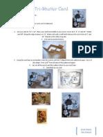 Tri-Shutter Card Instructions