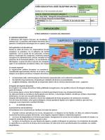 GUIA 8 Ciencias Sociales GRADO 7 -