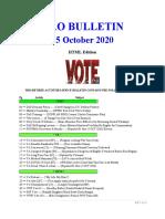 Bulletin 201015 (HTML Edition)