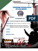 Monografía de control y Monitoreo de Aire, Ruido