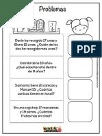 Problemas matematicos para primer grado.pdf