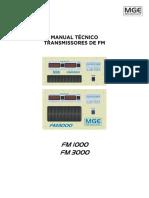 Manual Técnico FM1000 e FM3000