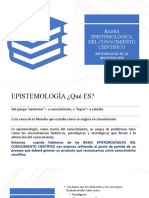Unidad I. Bases epistemológicas  de la investigación científica.