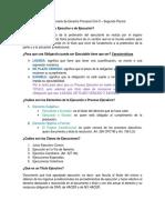 Gordillo Derecho Procesal Civil II - Segundo Parcial