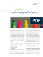 Alsdorf - Improving Capital Budgeting Five Practices - Final