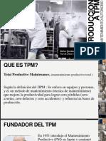 Introduccion a TPM AM (Mantenimiento productivo total)
