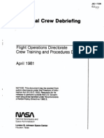 STS-1 Technical Crew Debriefing