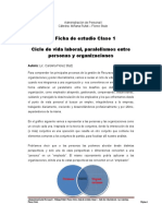 Ficha clase 1 - Ciclo de vida laboral - 2016