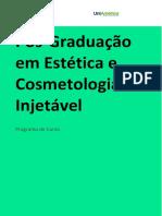 Pós em Estética e Cosmetologia Injetável.pdf