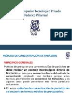 CONCENTRACION DE PARASITOS