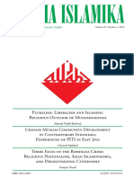 Chinese Muslim Community Development in Contemporary Indonesia Experiences of PITI in East Java