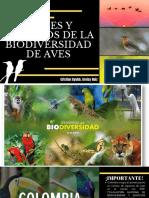 BIENES Y SERVICIOS DE LA BIODIVERSIDAD EN AVES
