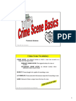 CSI Crime Scene investigation Powerpoint