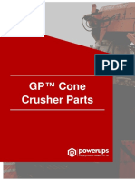 GP™ Cone Crusher Parts Manual