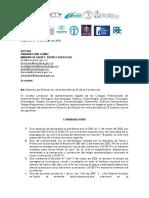 DERECHO DE PETICIÓN COLEGIOS COVID-19