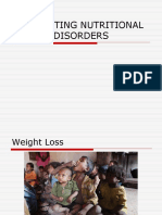 EVALUATING NUTRITIONAL DISORDERS
