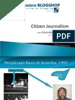 Citizen Journalism - Solo