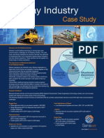 Railway Industry Case Study