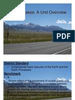 Earthquake Curriculum