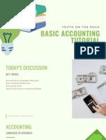Basic Accounting - Part 1