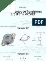 Fundamentos de Transistores BJT, JFET y MOSFET