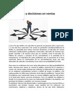 Articulo Alternativas y decisiones en ventas