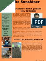 Quarterly Newsletter, October 2020[1]