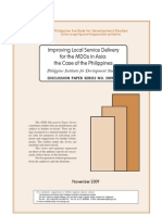 PIDS study on Improving LSD for MDGs in Asia