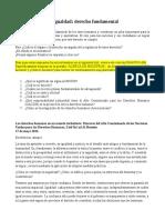 2o La igualdad - Derecho fundamental.docx