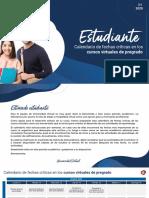 Calendario estudiantes Q4 2020