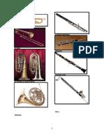 album de instrumentos de cuerda y viento