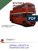 Transpo & Public Service Law