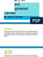 Glossary of Business Management Terms