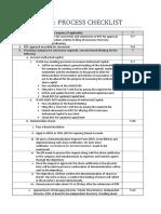 SME IPO Guideline Checklist