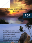 VOLUNTARY AND INVOLUNTARY ACTION
