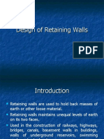 Lecture on Retaining Wall.ppt