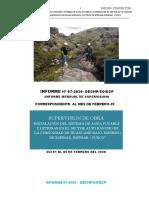 2. INFORME MENSUAL SUPERVISION ALTO RANCHO FEBRERO