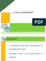 Investment Portfolio mgt