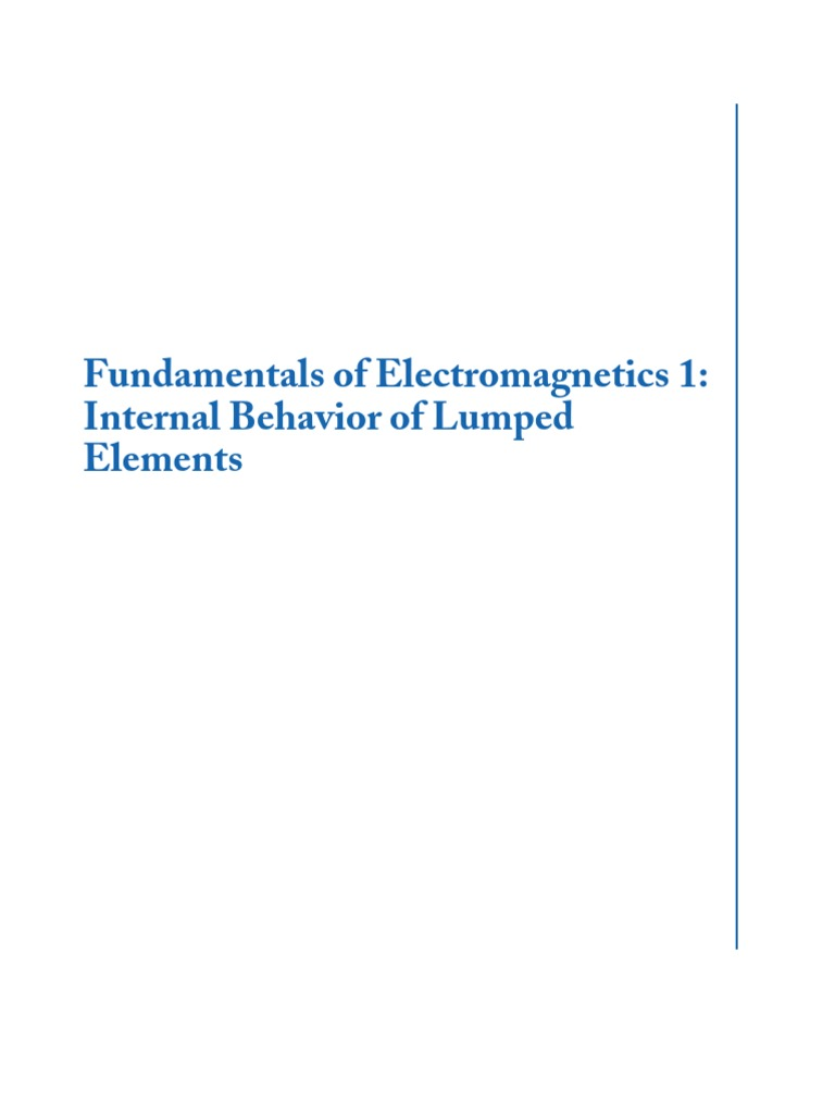 Fundamentals of electromagnetics full book voltage electricity fandeluxe Images