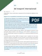 SPEDIZIONI INTERNAZIONALI TRATTAMENTO IVA