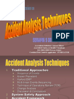 Accident Analysis Techniques