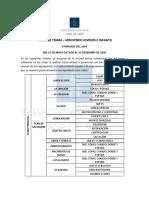 INDICE DE TEMAS - MINISTERIO JOVENES Y NIÑOS