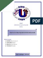 TP Enzymologie